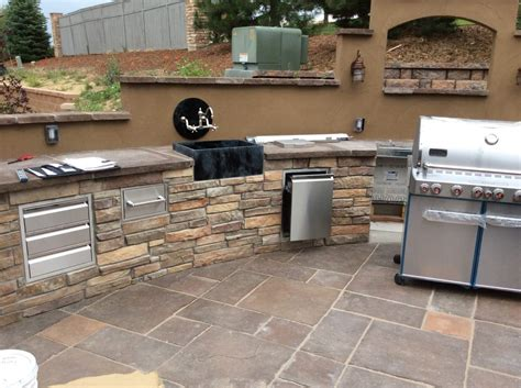 sinks for outdoor kitchens outdoor kitchens hi tech appliance 5291