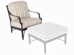 striped pale tan cushion patio outdoor replacement patio With home depot outdoor furniture replacement cushions