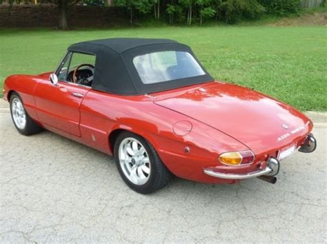 1969 Alfa Romeo Spider  Information And Photos Momentcar