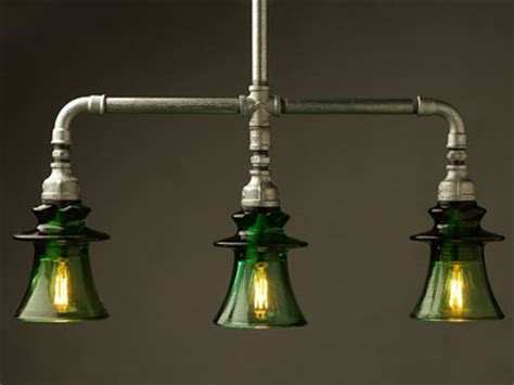 Insulator Light Fixture by L 225 Mparas Retro Vintage Con Tuber 237 As