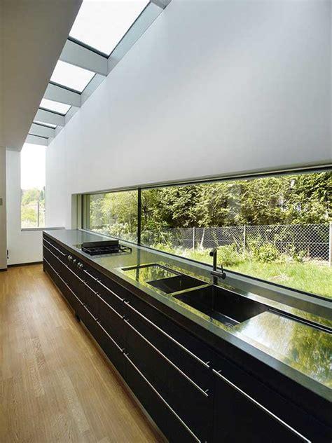 Grundriss Haus Am Hang by Kleiner Grundriss Am Hang Modernes Einfamilienhaus