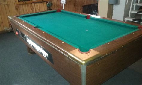 7ft pool table for sale 7 ft coin operated pool table for sale classifieds