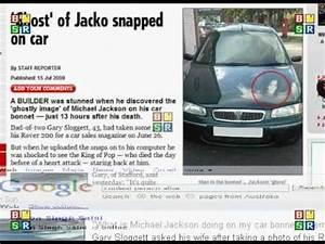 michael jackson ghost on car bonnet - YouTube