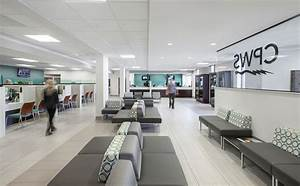 Columbia power water systems service center renovation for Interior design office nashville