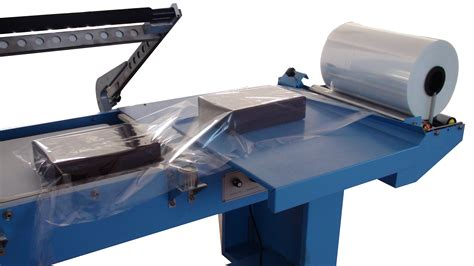 commercial heat shrink film packaging machine  sealing  cutting  sale automatic