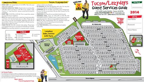 Tucson, Arizona Rv Camping Sites  Tucson  Lazydays Koa