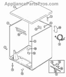 Parts For Admiral Adg7000aww  Cabinet Parts