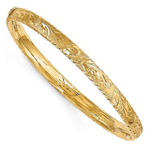 14k Diamondcut Bangle. Millefiori Beads. Key Lockets. Hinged Bangle. 14k Gold Band. Bracelet Bands. Mens Necklaces. 14k Gold Wedding Band. Nice Bangle Bracelets