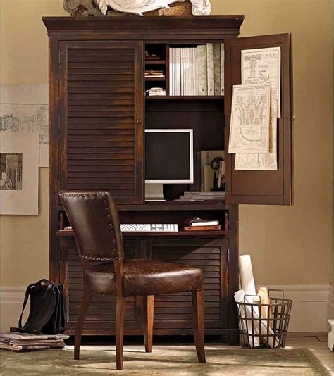 Best 25+ Computer Armoire Ideas On Pinterest  White Desk