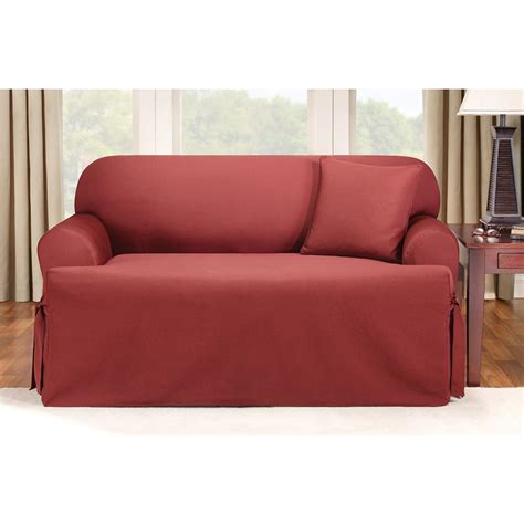 sure fit furniture covers sure fit logan t cushion sofa slipcover 292833