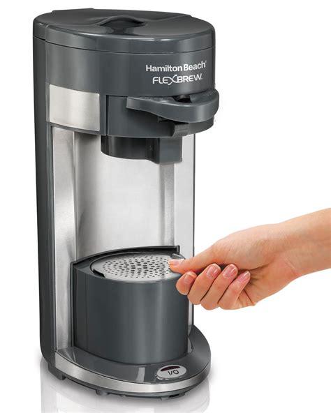 Hamilton beach flexbrew coffee maker. Amazon.com: Hamilton Beach Coffee Maker, Flex Brew Single-Serve (49963): Kitchen & Dining