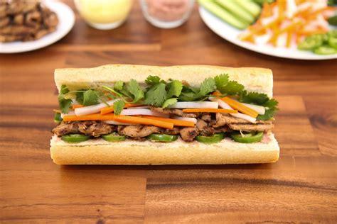 grilled pork sandwich banh mi thit nuong runawayrice