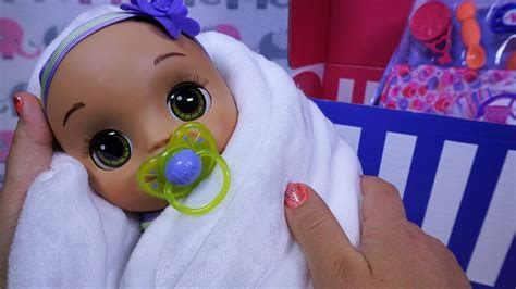 BABY ALIVE Real As Can Be Baby & New Mommy Kit UNBOXING ...