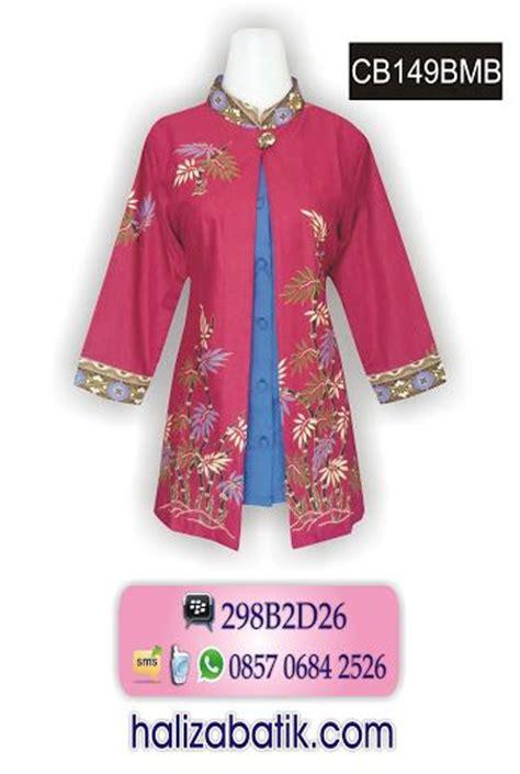 atasan katun motif batik the 25 best blouse batik modern ideas on