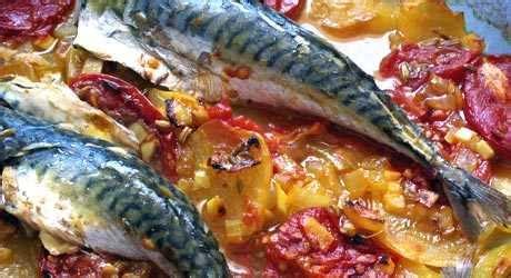 cuisiner le maquereau au four manger sain et naturel les produits bons pour la santé