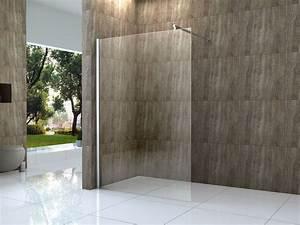 Duschtrennwand Badewanne Glas : vacante 140x200cm duschwand 10mm glas walk in dusche ~ Michelbontemps.com Haus und Dekorationen