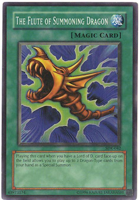 yu gi  card sdk   flute  summoning dragon