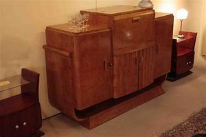 Meuble Art Deco Occasion : delicieux meuble art deco a vendre 6 superbe bar art deco en loupe de myrte avec un tr bel ~ Teatrodelosmanantiales.com Idées de Décoration
