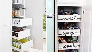 Rangement Placard Cuisine : 20 conseils pour mettre de l ordre dans ses placards de cuisine ~ Teatrodelosmanantiales.com Idées de Décoration