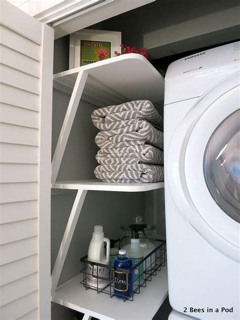 small space solution laundry closet makeover closetjpeg