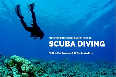 How To Scuba Dive - the equipment of the scuba diver not as complicated as it