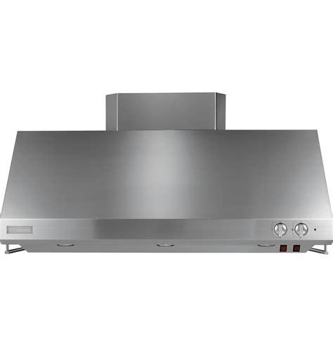 monogram  stainless steel professional hood zvssfss ge appliances