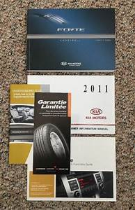 2011 Kia Forte Owners Manual User Guide New