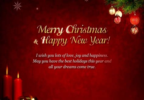 Christmas And New Year Quotes For Boyfriend