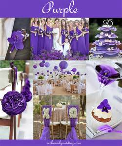 colors for weddings your wedding color don t overlook five shades of purple exclusively weddings