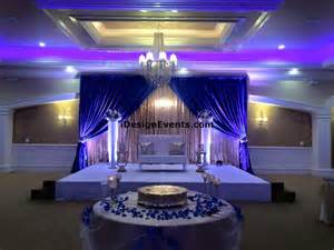 royal blue white and gold wedding - Royal Blue Wedding Ideas