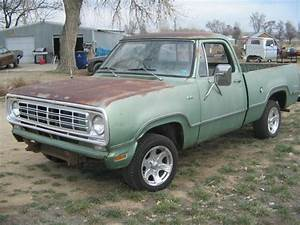Find Used 1976 Dodge Shortbed Pickup Project Hotrod Ratrod