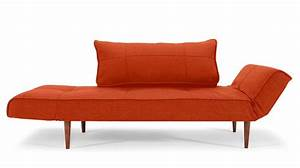 zeal deluxe sofa bed orange With zeal sofa bed