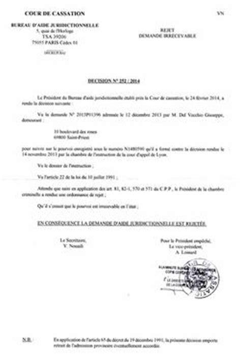 cour de cassation monsieur le pr 233 sident du bureau d aide juridictionnelle de la cour de