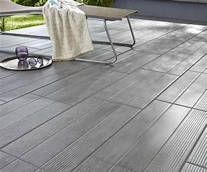 carrelage exterieur sol terrasse ou toit With carrelage pour terrasse exterieur