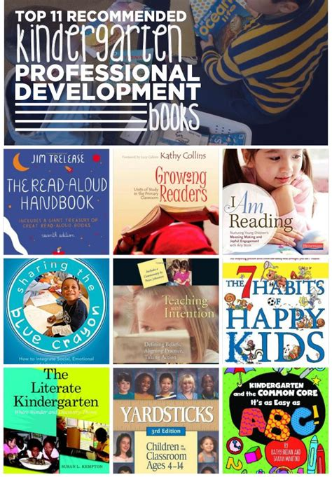 top 11 recommended kindergarten professional development 319 | Top 11 Recommended Kindergarten Professional Development Books