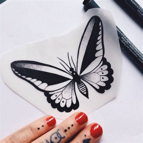 bonny small black butterfly tattoo design tattooimagesbiz