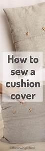 Cushion Cover Pdf Sewing Pattern  U0026 Instructions
