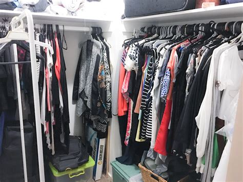 Spring Cleaning My Closet