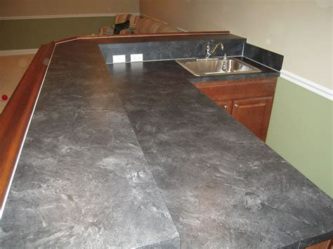 pictures painted kitchen cabinets laminate countertop that looks like slate formica basalt 4221