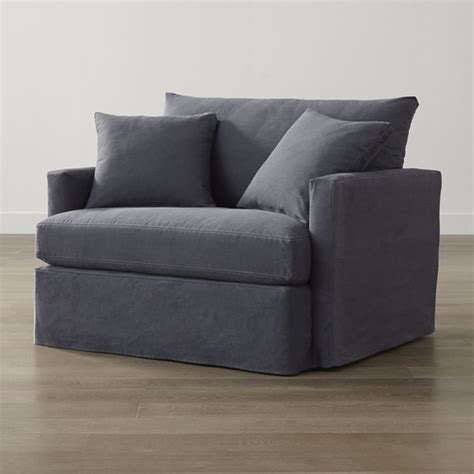 slipcover only for lounge ii chair and a half