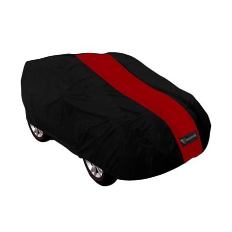 jual mantroll cover mobil for mitsubishi xpander hitam merah harga