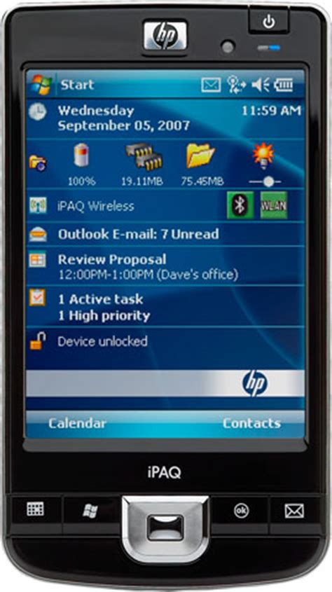 hp ipaq  mobile handheld computer  price   save