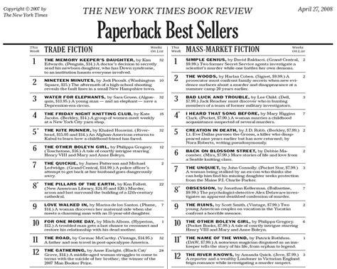 Best Seller List New York Times Bestseller It S Offical