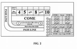 Craps Table Layout Diagram Printable  U00ab Online Kasinon F U00f6r