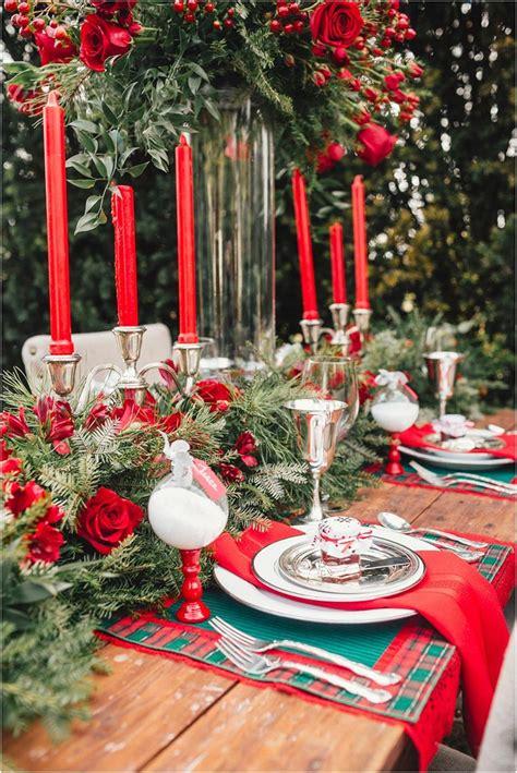 ideas  christmas table decorations quiet corner