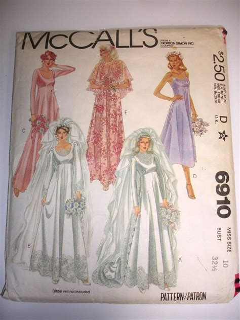 mccalls pattern  wedding bridesmaid dress
