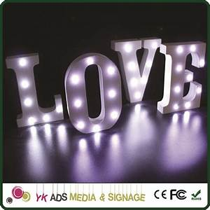 decorative metal sign acrylic channel letters led module With acrylic channel letters