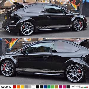 Ford Focus St Bodykit : decal sticker racing stripe kit for ford focus rs st wing ~ Kayakingforconservation.com Haus und Dekorationen