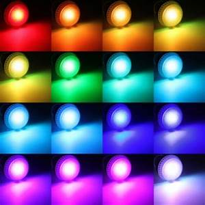 10-Watt Color Changing LED Light Bulb with Remote Control ...