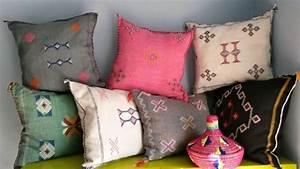 Housse De Coussin Berbere : berber sabra pillow cover handmade coussin berbere ~ Melissatoandfro.com Idées de Décoration